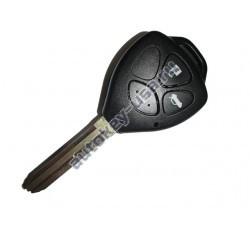 Toyota(Тойота) ключ с дистанционным управлением (3 кнопки), чип G. Лезвие TOY 43. Подходит к модели Camry с 2010г