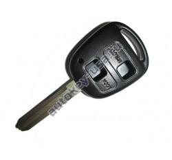 Toyota(Тойота) корпус дистанционного ключа (2 кнопки), лезвие TOY 43