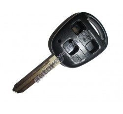 Toyota(Тойота) корпус дистанционного ключа (3 кнопки), лезвие TOY 43
