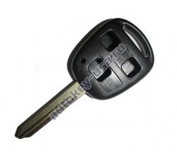 Toyota(Тойота) корпус дистанционного ключа (3 кнопки), лезвие TOY 47