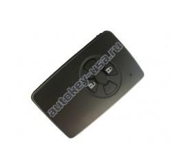 Toyota(Тойота) smart ключ 2 кнопки. Номер:MDL B51EA. ( Аналог )