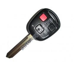 Toyota(Тойота) ключ с дистанционным управлением (3 кнопки). Лезвие TOY 43. Модель LAND CRUISER США