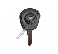 Ваз корпус дистанционного ключа 3 кнопки. Модели:: Калина, Приора, Гранта