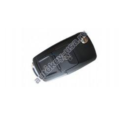Volkswagen(Фольксваген) выкидной ключ с дистанционным управлением 2 кнопки. C мая 2001-2005г. Европа. Номер:: 1JO 959 753 CT,AG