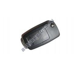 Volkswagen(Фольксваген) выкидной ключ с дистанционным управлением 3 кнопки. С мая 2001-2005г. Европа. Номер:: 1JO 959 753 AH,DA