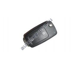 Volkswagen выкидной ключ с дистанционным управлением 2 кнопки.7E0 837202AF. Amarok 2010,Transporter T5 c 2010