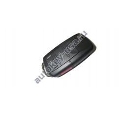 Volkswagen(Фольксваген) выкидной ключ с дистанционным управлением 3 кнопки. До мая 2001г. США. Номер:: 1JO 959 753 T