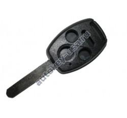 Honda корпус ключа 3 кнопки+panic. Для автомобилей из США