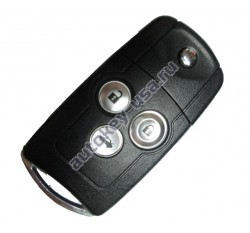 Honda(Хонда) выкидной ключ с дистанционным управлением (3 кнопки), 433Mhz. Модель Civik