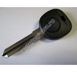 Chevrolet(Шевроле) заготовка ключа с местом под чип. Лезвие B111. Для автомобилей из США
