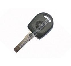 Volkswagen(Фольксваген) заготовка ключа с чипом (чип 42)