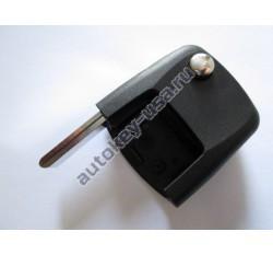 Volkswagen(Фольксваген) часть корпуса выкидного ключа с чипом (чип can48) Для автомобилей с 2005г