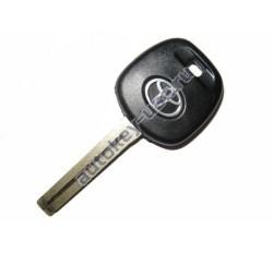 Toyota(Тойота) заготовка ключа с чипом (чип 4D-67), лезвие TOY 48