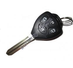 Toyota(Тойота) корпус дистанционного ключа (4 кнопки), лезвие TOY 43