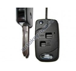 Toyota(Тойота) корпус выкидного ключа (2 кнопки), лезвие TOY 43