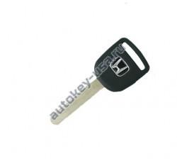 Honda(Хонда) заготовка ключа с чипом (чип 13). Для моделей:: CR-V, Civic. Для автомобилей до 2005г