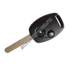 Honda(Хонда) ключ с дистанционным управлением (2 кнопки), чип 46. Модель CR-V 2007-2010г