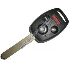 Honda(Хонда) ключ с дистанционным управлением (3 кнопки+panic), чип 46(электронный). Для автомобилей Accord,Pilot 2008-2013