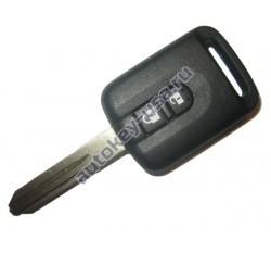 Nissan(Ниссан) ключ с дистанционным управлением 2 кнопки, чип 46.(Чип отдельно)