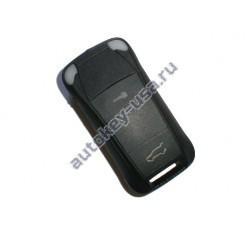 Porsche(Порше)  ключ с дистанционным управлением (2 кнопки + panic). Для автомобилей из США