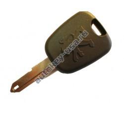 Peugeot(Пежо) заготовка ключа с чипом (чип 46)