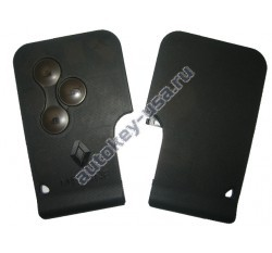 Renault(Рено) Megane корпус smart-карты 3 кнопки