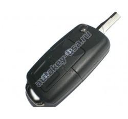 Skoda(Шкода) выкидной ключ с дистанционным управлением 2 кнопки. Для автомобилей из Европы до мая 2001г. Номер:: 1JO 959 753 A,N