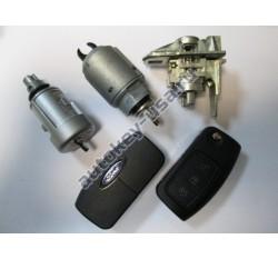 Ford(Форд) комплект личинок Focus II с двумя выкидными ключами