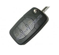 Audi(Ауди) ключ выкидной с дистанционным управлением. Модель::A4 (3 кнопки). Европа. 2002-2005г. 4D0 837 231 D