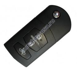 MAZDA(Мазда) ключ выкидной с дистанционным управлением и чипом, 3 кнопки.(Производство Mitsubishi)