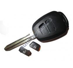 Toyota(Тойота) NEW корпус дистанционного ключа (2 кнопки), лезвие TOY 43.