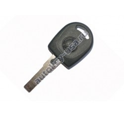Seat(Сеат) заготовка ключа с чипом 48, логотип VW