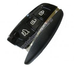 Hyundai(Хендай) Santa Fe smart ключ (3 кнопки), 433Mhz