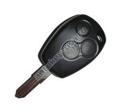 Renault(Рено) КЛЮЧ 3 КНОПКИ PCF 7947 лезвие VAC 102