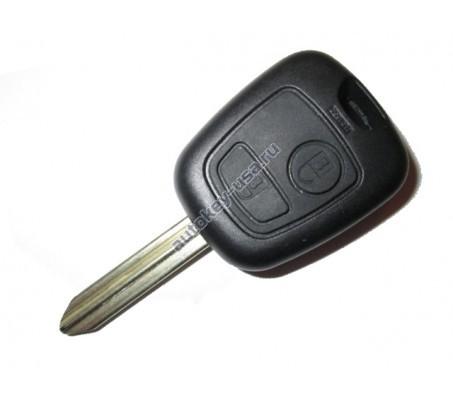 Peugeot(Пежо) корпус дистанционного ключа 2 кнопки