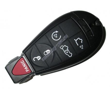 Dodge(Додж) smart ключ (5 кнопок+panic) США