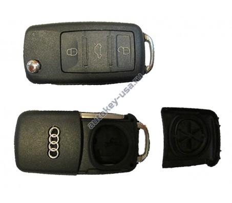 Audi A8 c 2003 года корпус ключа