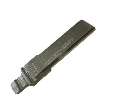 лезвие выкидного ключа Audi (короткое), для автомобилей с 2005 года