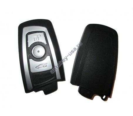 BMW(БМВ) корпус smart ключа. Модели F-серии (3 кнопки)