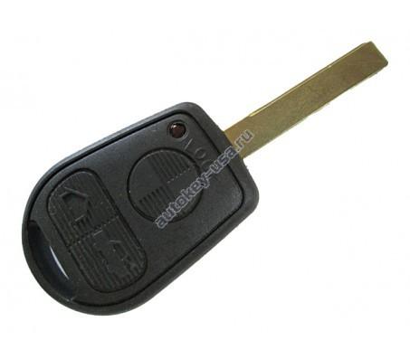 БМВ корпус ключа без платы (3 кнопки)