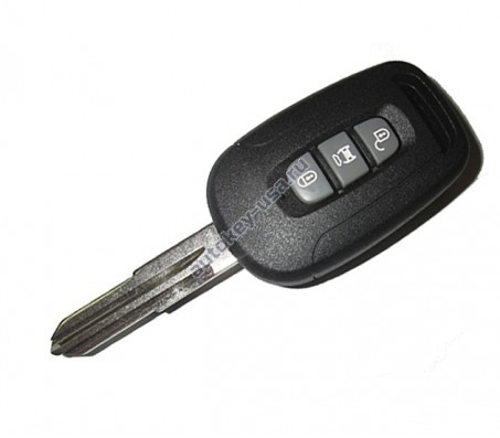 Chevrolet(Шевроле) ключ с ДУ(3 кнопки) CAPTIVA