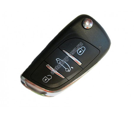Chrysler(Крайслер) Универсальный ключ с выкидным механизмом лезвия. Производитель: Keyless Engineering.