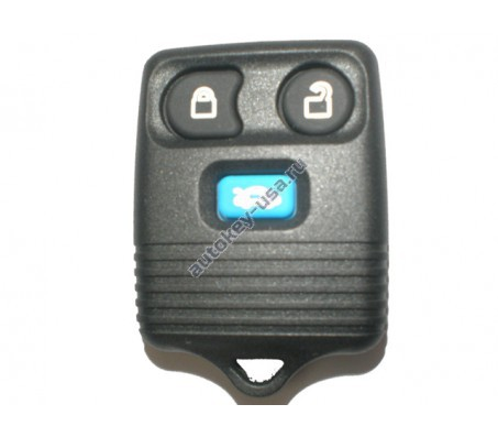 Форд брелок 3 кнопки. Модель Transit до 2006г., Maverick,Focus II и др. модели