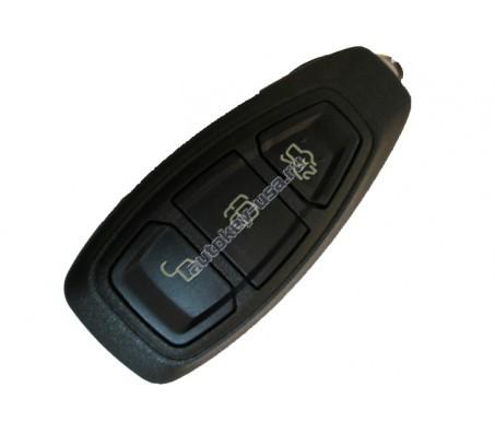 Форд смарт ключ 3 кнопки. Mодели: Мондео, Фокус 3, Куга и др модели
