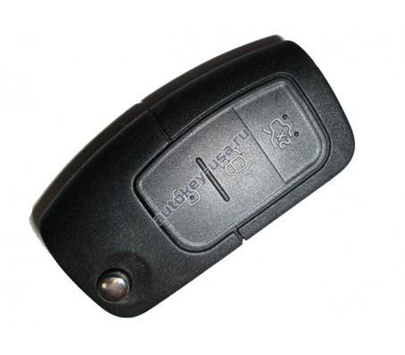 Ford ключ выкидной с дистанционным управлением (3 кнопки). Модели:: Focus II и д.р модели (Плата ОРИГИНАЛ)