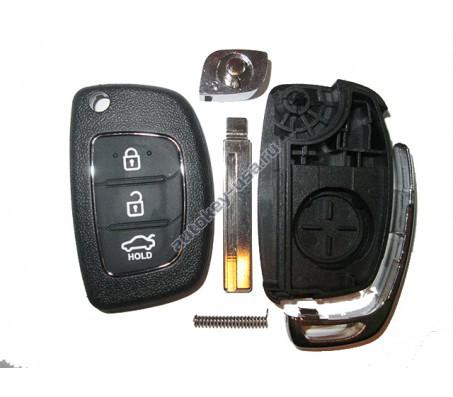 Hyundai(Хендай) Solaris с 2013г корпус выкидного ключа 3 кнопки