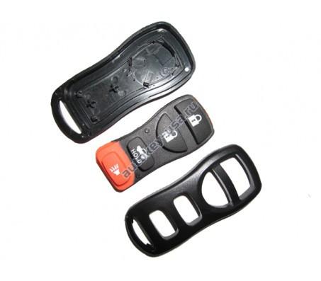 INFINITI(Инфинити) корпус брелока ( 3 кнопки+panic)
