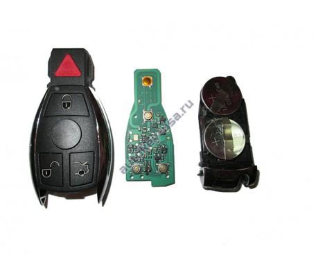 Mercedes(Мерседес) smart ключ 3 кнопки+panic США