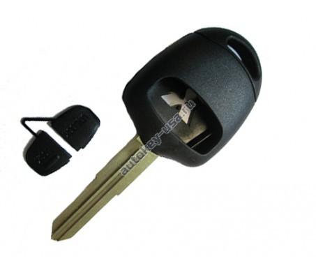 Mitsubishi(Мицубиси) корпус ключа 2 кнопки