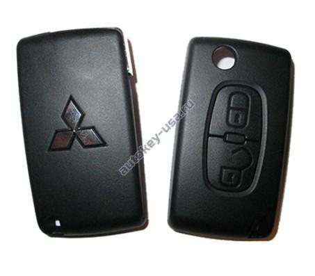 Mitsubishi(Мицубиси) корпус выкидного ключа Outlender III и др.Оригинал
